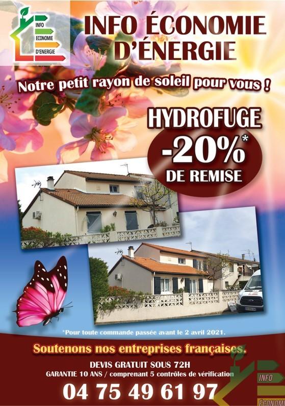 promotion hydrofuge mars 2021